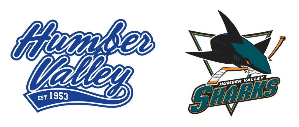 Humber Valley Hockey Association official logos